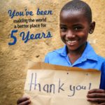 5 Year Anniversary with Compassion