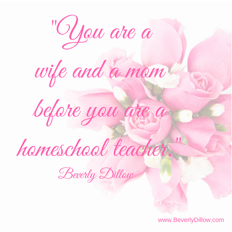 Don't Forget To Take Care of YOU as You Homeschool Your Children…