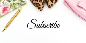 Subscribe to the blog